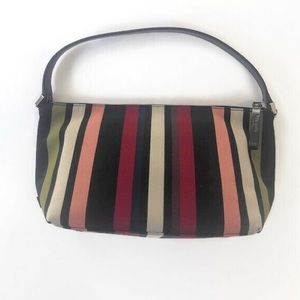 Kate Spade Striped Canvas Bag